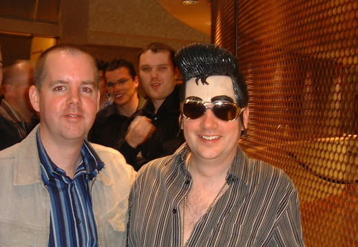 Pete and Elvis