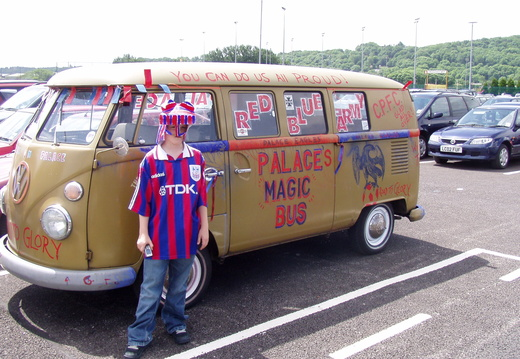 By the Palace Magic Bus