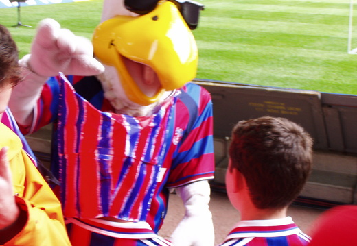 Eagle meets Masked Boy and Jake