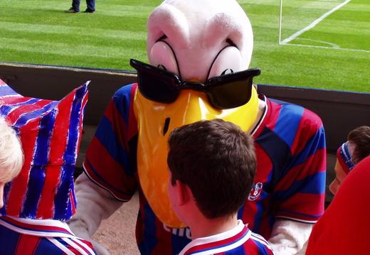 Eagle meets Masked Boy and Jake 2