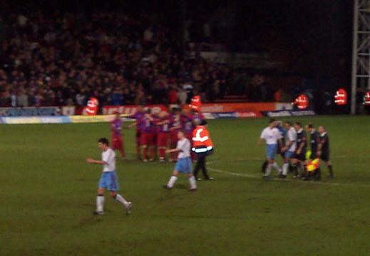 End Of Match Huddle