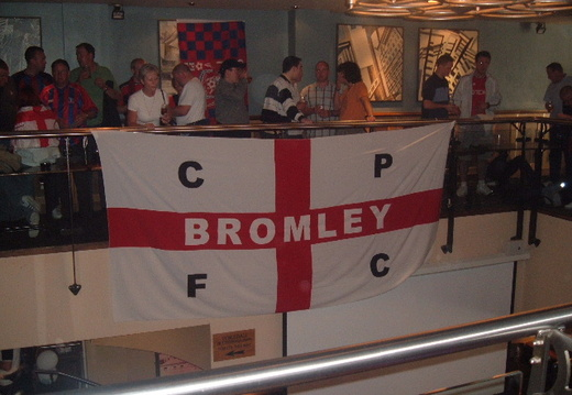 Flag before the game