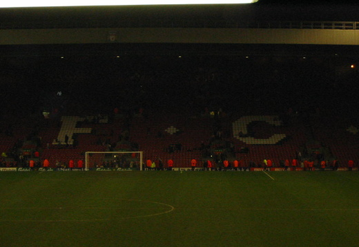 An empty kop has nothing to say