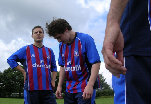 Ricky and Andy at the HT teamtalk