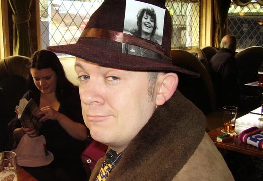La Bomb with Richmond in his hat