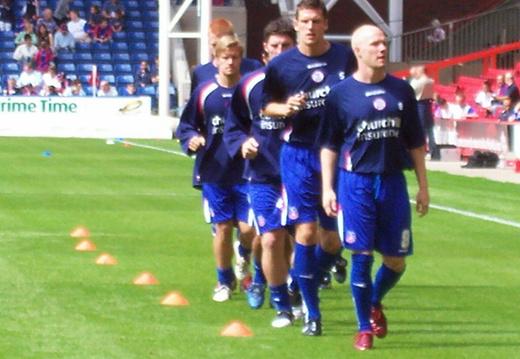 johnson leading pack