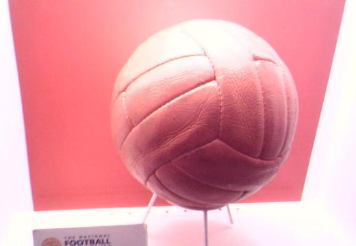 1966 world cup final ball in preston